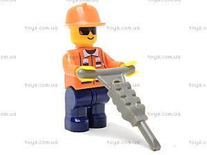 Конструктор «Пожарные спасатели», 40 деталей, M38-B0216R, детские игрушки