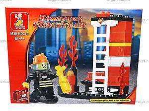 Конструктор «Пожарные спасатели», 40 деталей, M38-B0216R, фото