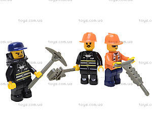 Конструктор «Пожарные спасатели», 409 деталей, M38-B0222R, toys.com.ua