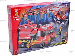 Конструктор «Пожарные спасатели», 409 деталей, M38-B0222R