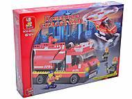 Конструктор «Пожарные спасатели», 409 деталей, M38-B0222R, фото