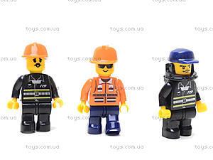 Конструктор «Пожарные спасатели», 693 детали, M38-B0226R, детский