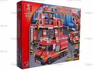 Конструктор «Пожарные спасатели», 693 детали, M38-B0226R