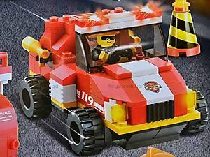 Конструктор «Пожарные спасатели», 693 детали, M38-B0226R, фото