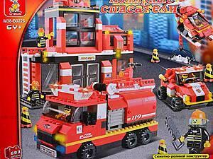 Конструктор «Пожарные спасатели», 693 детали, M38-B0226R, отзывы