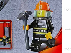 Конструктор «Пожарные спасатели», 693 детали, M38-B0226R, игрушки