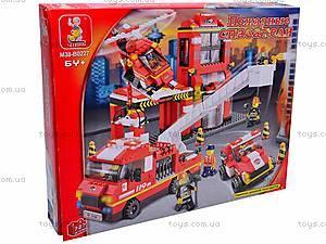 Конструктор «Пожарные спасатели», 745 элементов, M38-B0227R