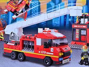Конструктор «Пожарные спасатели», 745 элементов, M38-B0227R, игрушки