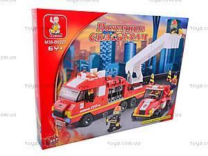 Конструктор «Пожарные спасатели», M38-B0223R, фото