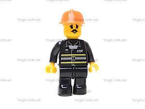 Конструктор «Пожарный вертолет», 155 деталей, M38-B0218R, іграшки