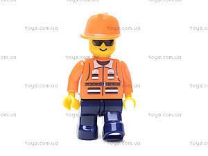 Конструктор «Пожарный вертолет», 155 деталей, M38-B0218R, детский