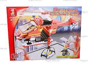 Конструктор «Пожарный вертолет», 155 деталей, M38-B0218R, купить