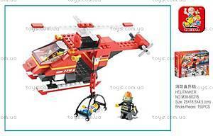Конструктор «Пожарный вертолет», M38-B0218