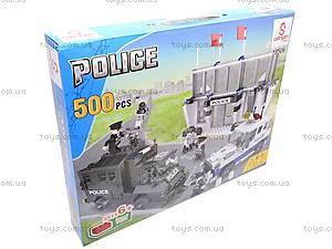 Конструктор «Полицейские машины», LW18506