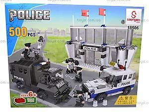 Конструктор «Полицейские машины», LW18506, фото