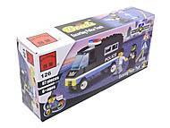 Конструктор «Полицейский автомобиль», 126, магазин игрушек