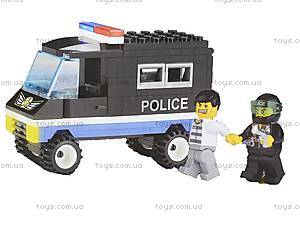Конструктор «Полицейский автомобиль», 126, отзывы