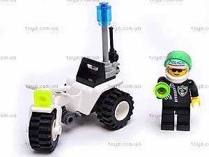 Конструктор «Полицейский мотоцикл», 101