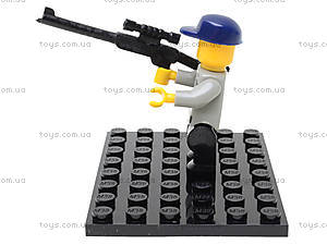 Конструктор «Полицейский спецназ», 126 деталей, M38-B0273R, цена