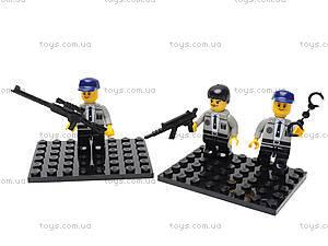 Конструктор «Полицейский спецназ», 126 деталей, M38-B0273R, игрушки
