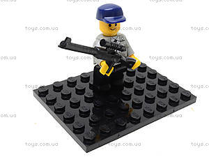 Конструктор «Полицейский спецназ», 126 деталей, M38-B0273R, магазин игрушек