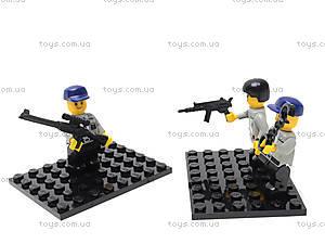 Конструктор «Полицейский спецназ», 126 деталей, M38-B0273R, toys.com.ua