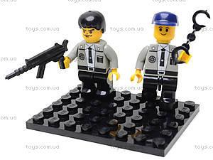 Конструктор «Полицейский спецназ», 126 деталей, M38-B0273R, іграшки