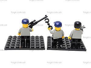 Конструктор «Полицейский спецназ», 133 элемента, M38-B0185, магазин игрушек