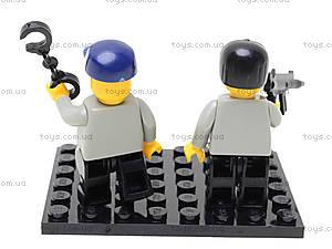 Конструктор «Полицейский спецназ», 133 элемента, M38-B0185, toys.com.ua