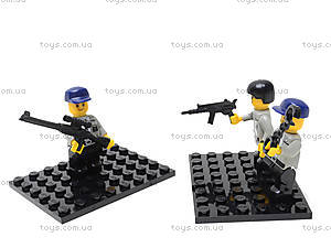 Конструктор «Полицейский спецназ», 133 элемента, M38-B0185, іграшки