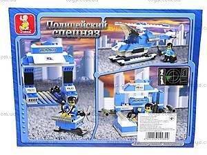 Конструктор «Полицейский спецназ», 133 элемента, M38-B0185, цена