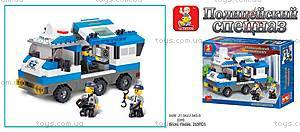 Конструктор «Полицейский спецназ», 265 деталей, M38-B0188R, купить