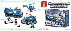 Конструктор «Полицейский спецназ», 403 деталей, M38-B0190R, купить