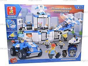 Конструктор «Полицейский спецназ», 492 деталей, M38-B0191R, детские игрушки