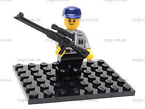 Конструктор «Полицейский спецназ», 69 деталей, M38-B0117R, детский