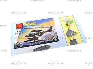 Конструктор «Полицейский вертолет», 123, купить