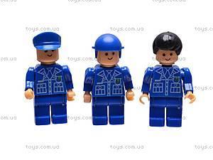 Конструктор «Полиция», 300 деталей, 10501B, отзывы