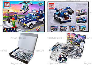 Конструктор детский «Полицейская машина», 394 деталей, 1117