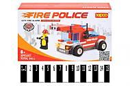 Конструктор «Полицейская машина», 84 деталей, XP93401