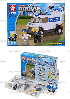 Детский конструктор «Полицейская машина спецназначения», 8810