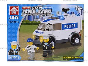 Детский конструктор «Полицейская машина спецназначения», 8810, отзывы