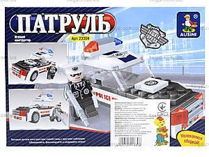 Конструктор «Полицейский патруль», 76 деталей, 23304, купить