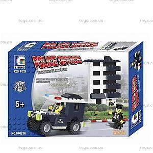 Конструктор «Полицейский участок», 125 деталей, 040216