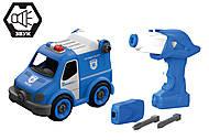 Конструктор «Полиция» на радиоуправлении, LM8022-YZ-1, купить