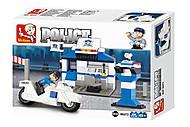 Конструктор «Полиция: станция», 86 деталей, M38-B0272, отзывы
