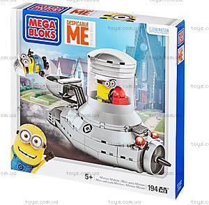 Детский конструктор Mega Bloks «Миньономобиль», CNC82