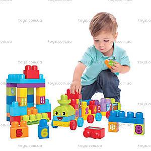 Конструктор Mega Bloks «Поезд с цифрами», DBL08, фото