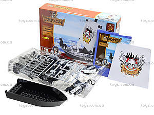 Конструктор «Пиратский корабль», 125 деталей, 27404, фото