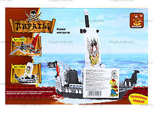 Конструктор «Пиратский корабль», 125 деталей, 27404, отзывы