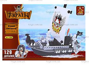 Конструктор «Пиратский корабль», 125 деталей, 27404, цена